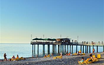 Batumi pláž