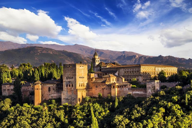 Krásy Andalusie - Granada Alhambra
