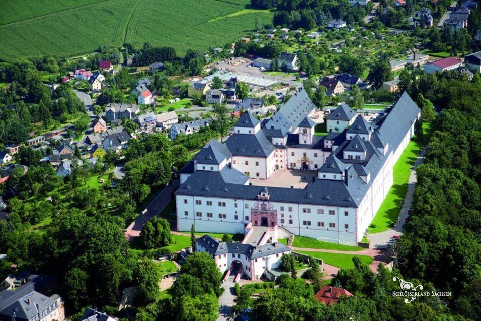Nejkrásnější zahrady a zámky Saska - Augustusburg